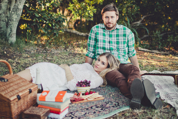 picnic engagement session Picnic By The Sea by Trigger Happy Images