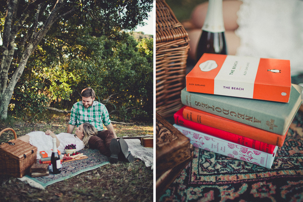 picnic engagement shoot Picnic By The Sea by Trigger Happy Images