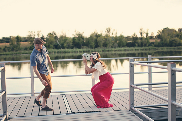 Otter Lake Minnesota Engagement Session