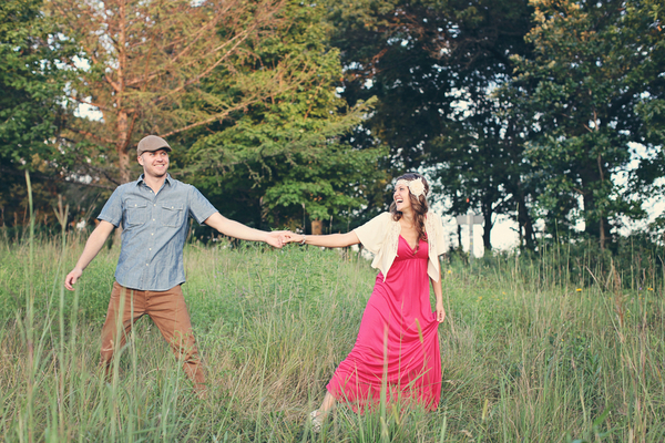 Otter Lake Minnesota Engagement Shoot