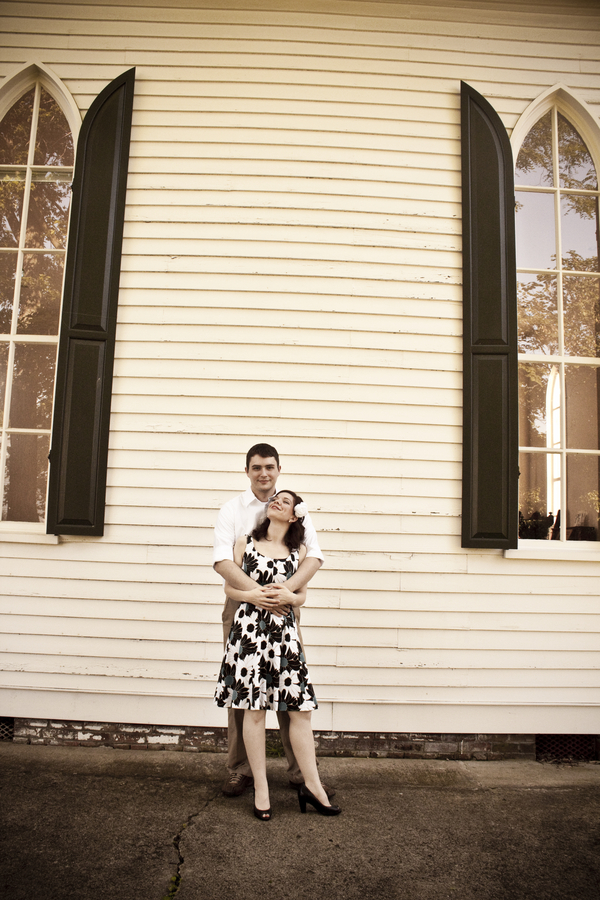 Engagement Shoot: The Notebook