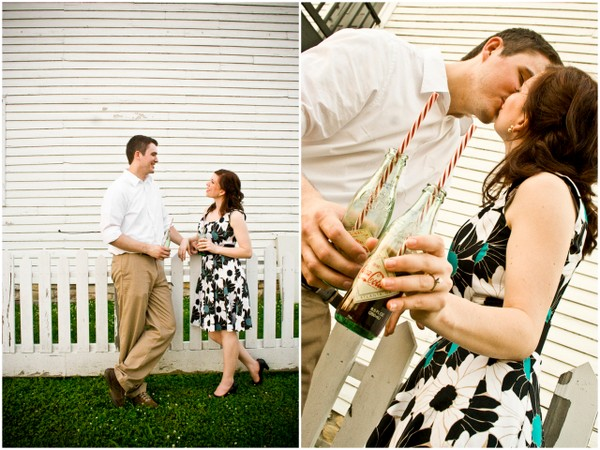 Notebook Inspired Engagement Photos