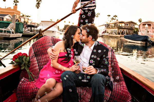 Romantic Gondola Ride In Newport Harbor