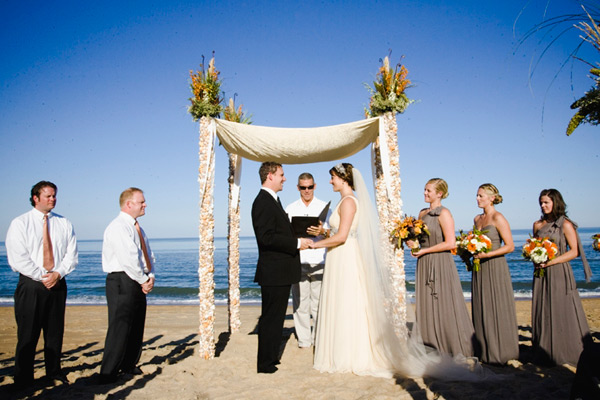 {Guest Post} Chair Arrangement & Chuppah Decorations For The Beach   Part 2