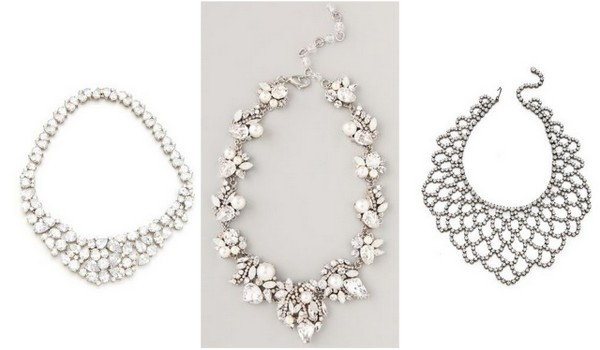 Statement+Necklaces1 6 Styles of Statement Necklaces for Modern Brides