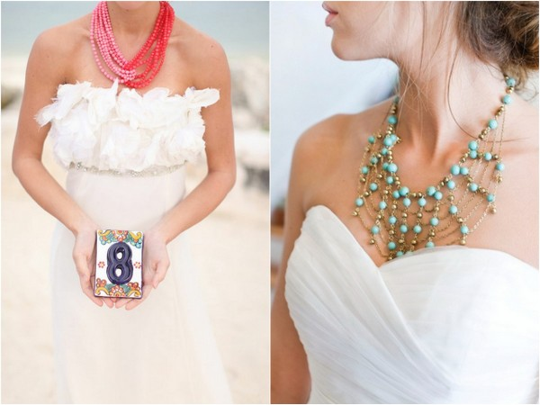 statement necklaces for brides 5 6 Styles of Statement Necklaces for Modern Brides
