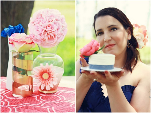 Nautical and Coral Wedding Theme