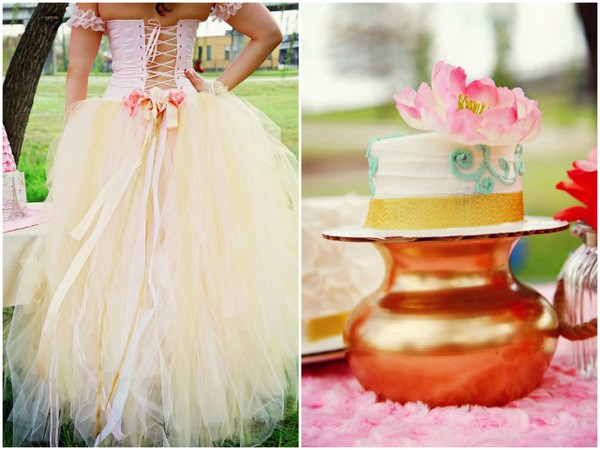 Wedding Theme Paris Princess