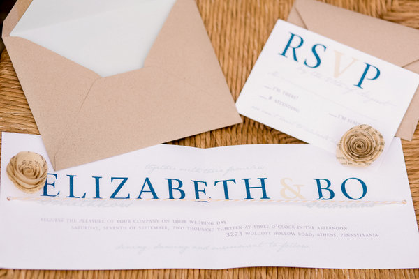 Autumn Wedding Invitations Inspiration