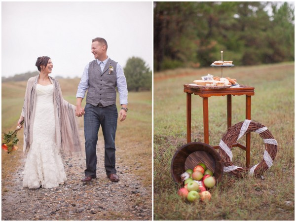 Fall Wedding Inspiration Shoot