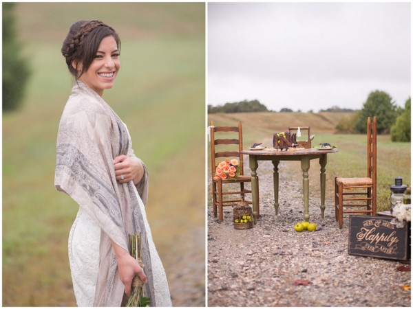 Simple Autumn Wedding Inspiration