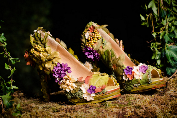 Wood Nymph Wedding Shoes