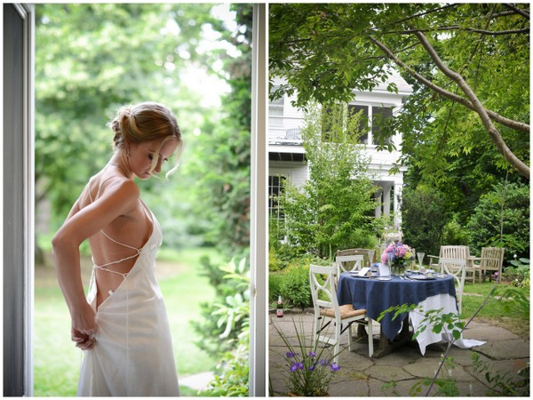 Elegant Backyard Wedding