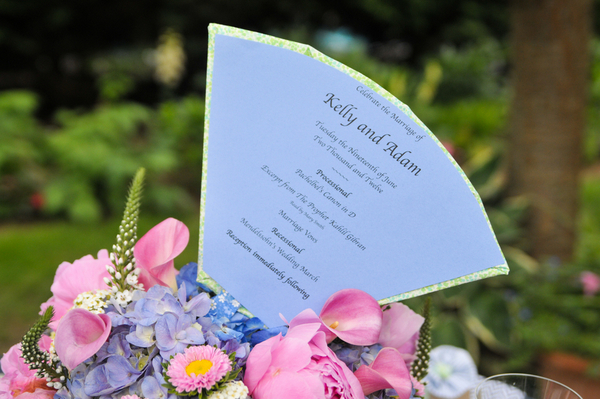 Invitation for Elegant Backyard Wedding