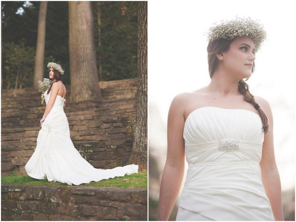 Inspiration Woodlands Bride