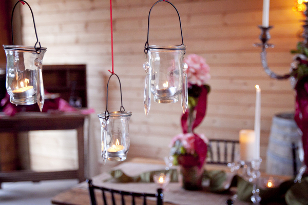 Hanging Glass Votive Candle Holders | Love Wed Bliss