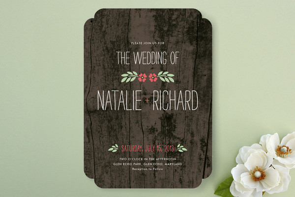 rustic wedding invitations How to Plan a Rustic Wedding