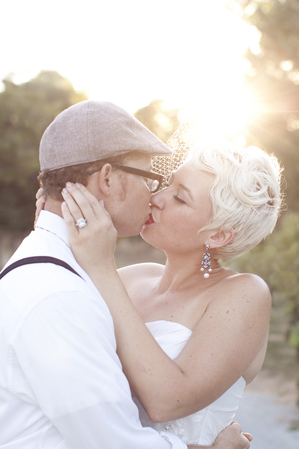 Vintage Glam Barn Wedding Bride & Groom | Love Wed Bliss