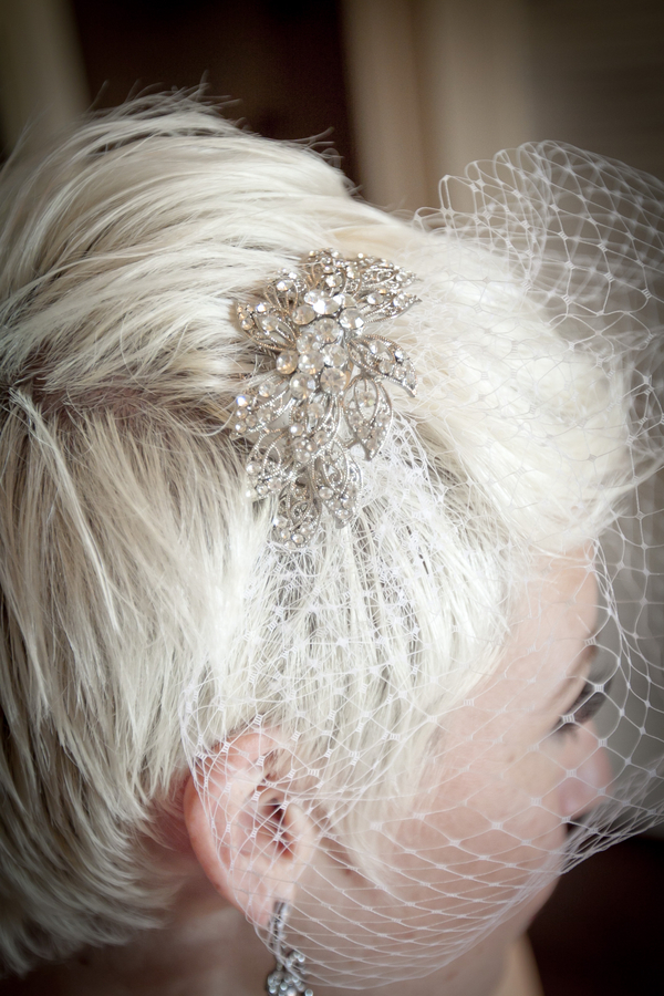Vintage Glam Diamente Headpiece | Love Wed Bliss