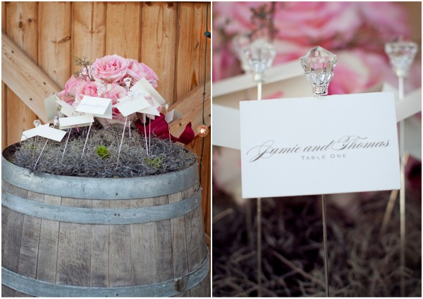 Vintage Glam Glass Escort Cards | Love Wed Bliss