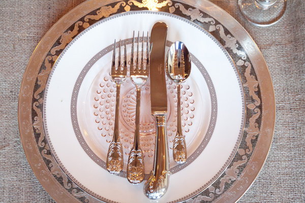 Vintage Glam Place Setting | Love Wed Bliss