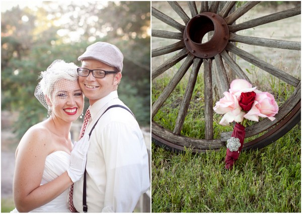 Vintage Glam Rustic Bouquet   Love Wed Bliss