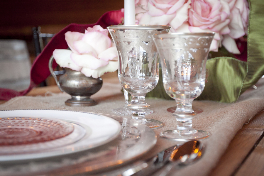 Vintage Glam Table Decor | Love Wed Bliss