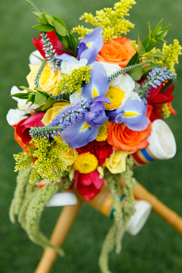 Croquet Themed Spring Wedding