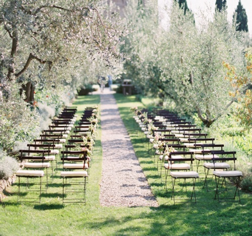 Summer Wedding Outdoor Ceremony