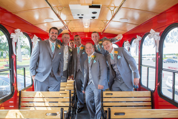 Red Trolley Wedding Ideas