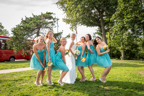 Turquoise White Summer Wedding Theme