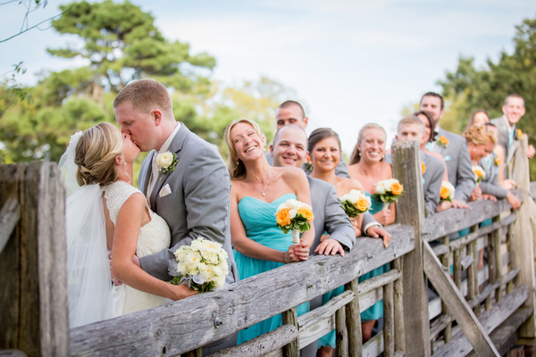 Turquoise & White Wedding