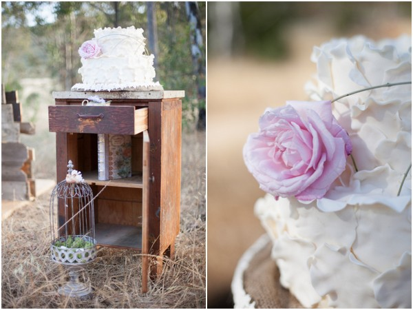 Bohemian Chic Wedding Cake | Love Wed Bliss