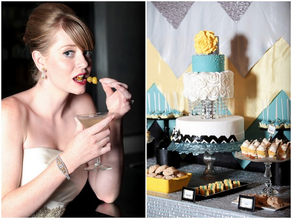 Mad Men Inspired Cocktail Theme | Love Wed Bliss