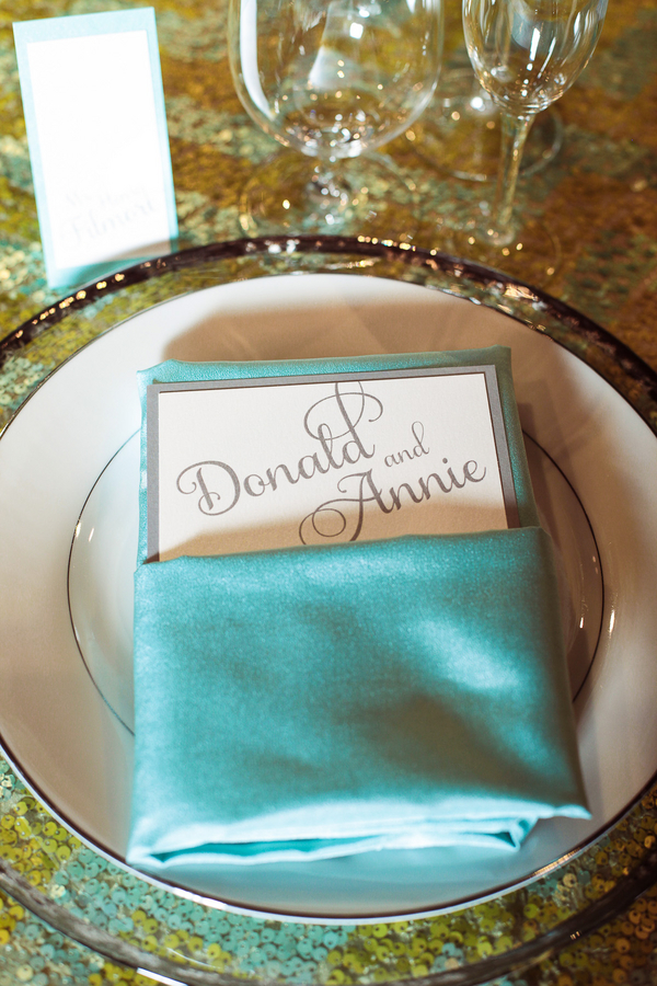Mad Men Wedding Theme Place Setting | Love Wed Bliss