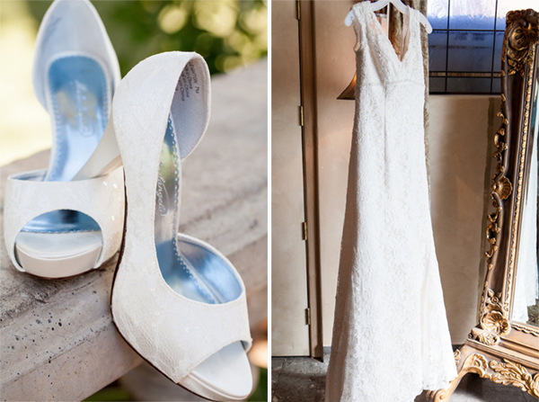 Wedding Shoes & Dress